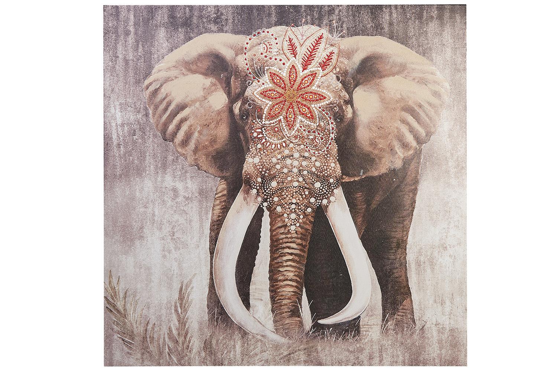 Репродукция Слон фото