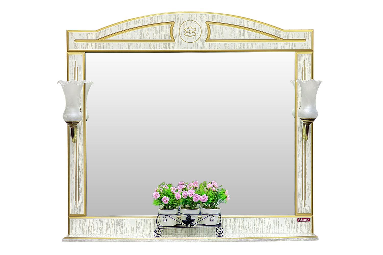 Зеркало с полкой Адель