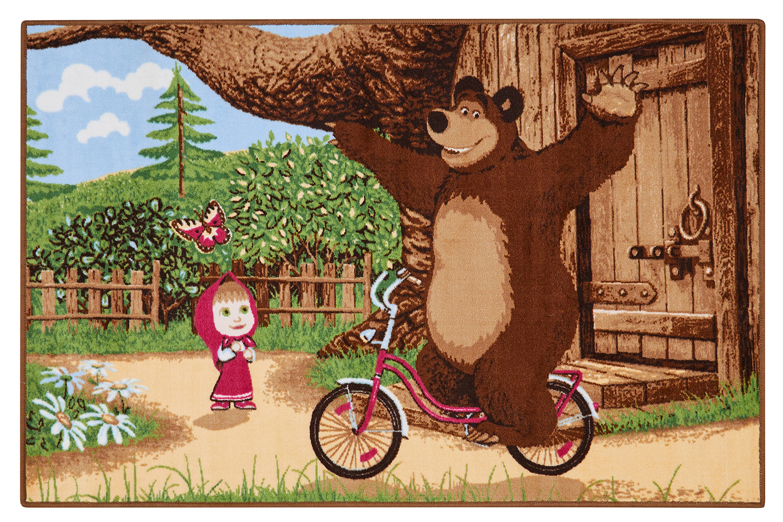 свободное время медведь на велосипеде картинка изящный цветок