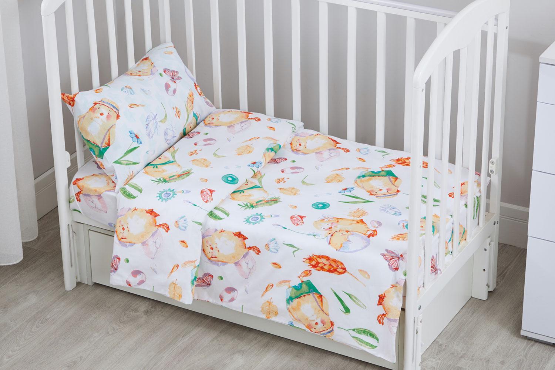 Комплект постельного белья Цыплята фото
