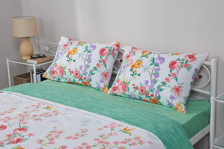 Купить со скидкой Комплект постельного белья Василиса Империя цветов
