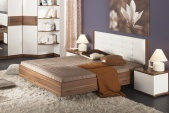 Кровать без подъемного механизма Рио Hoff: европейский гипермаркет мебели и товаров для дома, интернет-магазин мебели 12990.000
