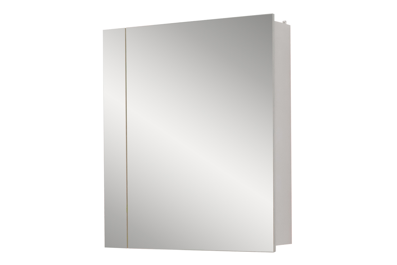Шкаф с зеркалом правый Анкона