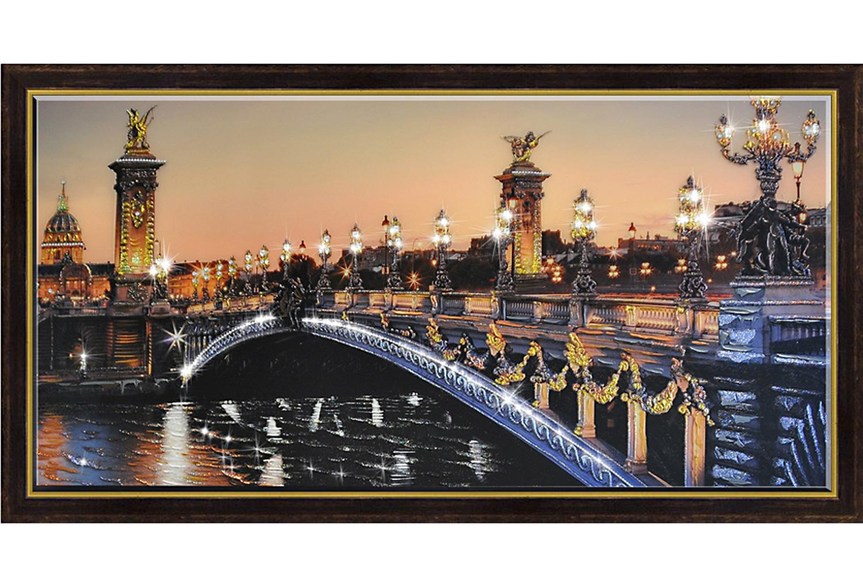 Репродукция в раме Александровский мост