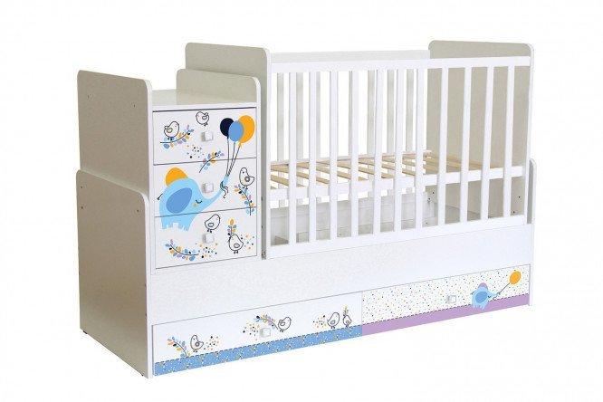Кроватка домик трансформер