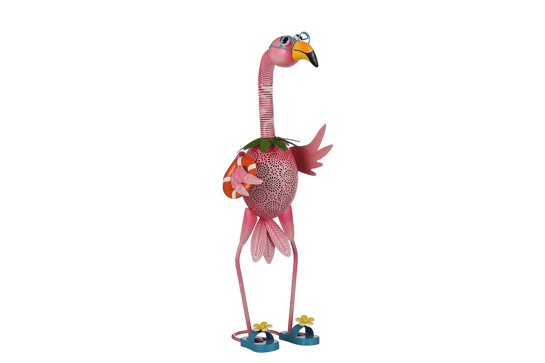 Декоративная фигурка Фламинго на пляже