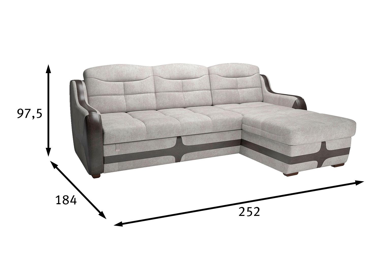 Угловой диван-кровать Рейн