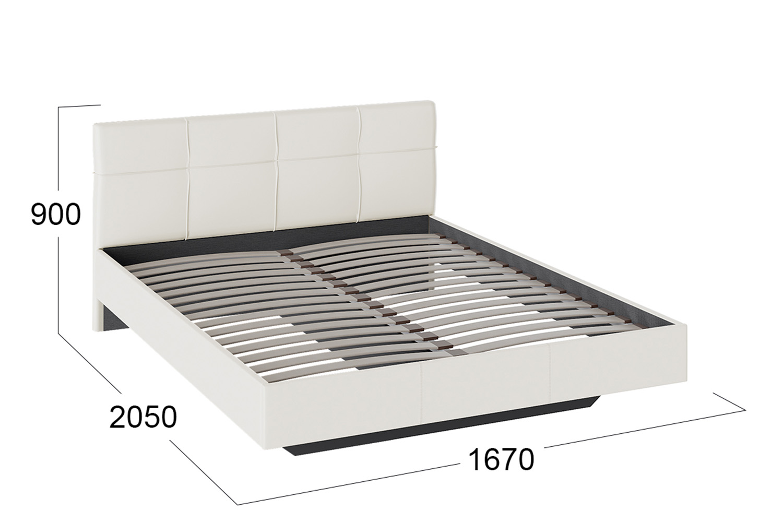 Картинка - Кровать без подъемного механизма Элис
