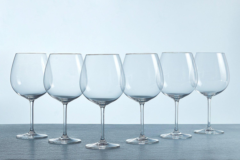 Купить со скидкой Набор бокалов для красного вина 800 мл