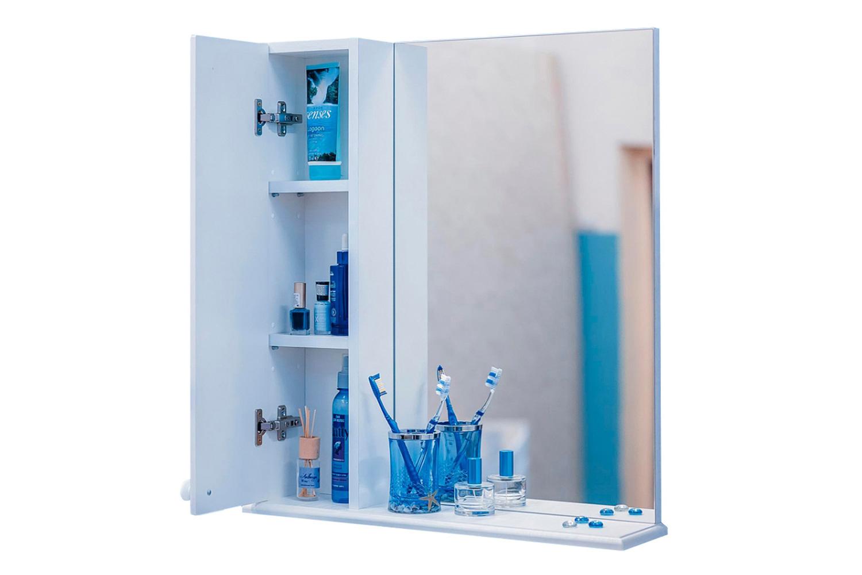 Шкаф с зеркалом левый Карина