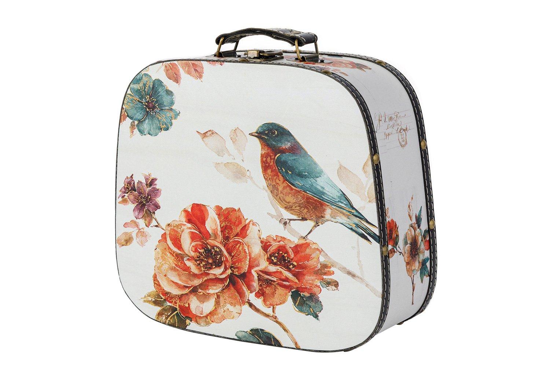 Декоративный чемодан для хранения Цветущий сад