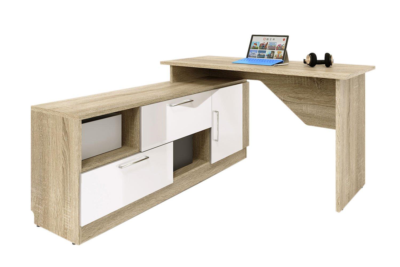 Купить со скидкой Письменный стол угловой Стокгольм