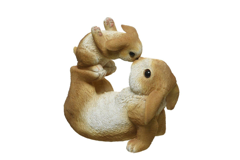 Декоративная фигурка Забавные кролики