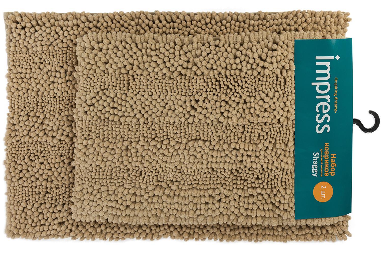 Набор ковриков для ванной комнаты Shaggy фото
