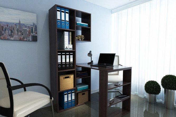 Письменный стол со стеллажом рикс венге - купить в интернет-.