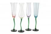 Набор фужеров для шампанского 220 мл Цветы Hoff: европейский гипермаркет мебели и товаров для дома, интернет-магазин мебели 6290.000