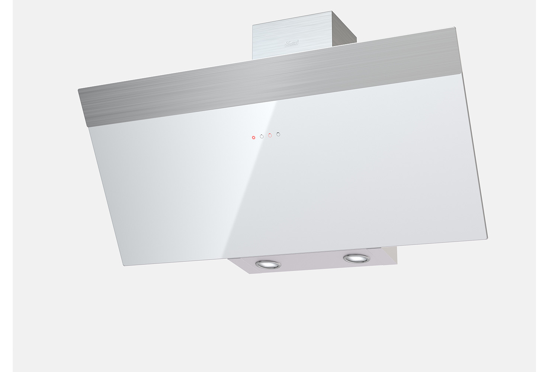 Вытяжка KRONAsteel KRISTEN 900 white/inox S