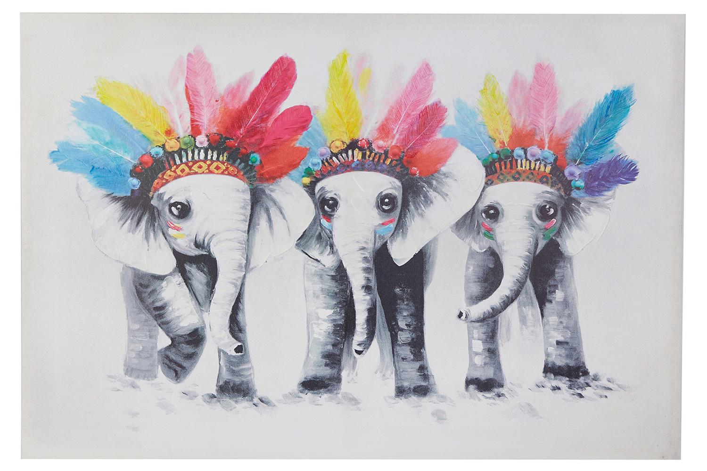 Репродукция Слонята-индейцы фото
