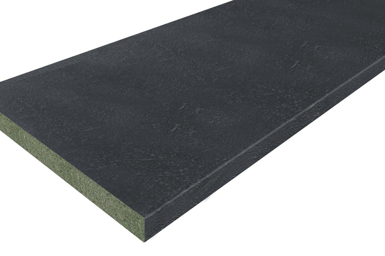 Столешница 1R чёрный камень
