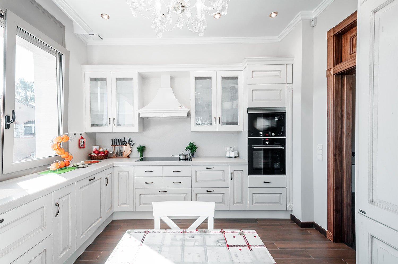 Hoff - Cocina rustica blanca ...