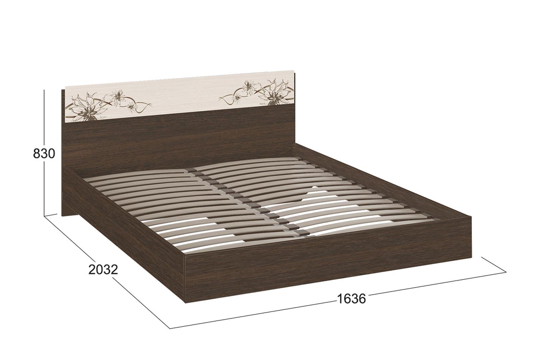 Картинка - Кровать без подъёмного механизма Мишель