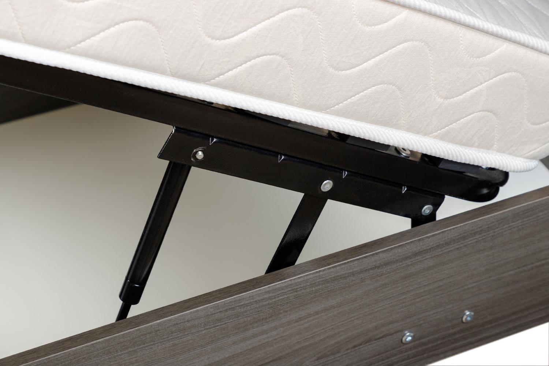 Картинка - Кровать с подъёмным механизмом Nils