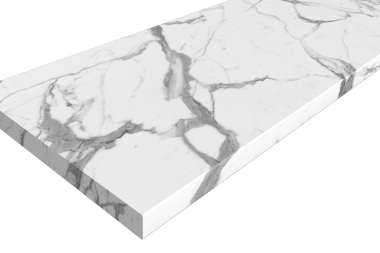Столешница 1R белый мрамор