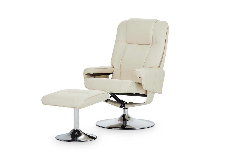 Кресло с пуфом Alberta