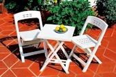 Hoff каталог набор садовой мебели 80089345 Набор садовой мебели белого цвета, производства Италии