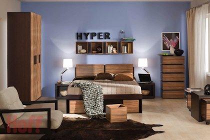 Сейчас на Мебель для спальни Hyper действует скидка. Обычная стоимость этого товара составляет 21315 руб