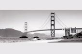 Репродукция на стекле Golden Gate Bridge 50х125 см Deco Glass Hoff: европейский гипермаркет мебели и товаров для дома, интернет-магазин мебели 4990.000