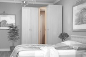 Шкаф угловой  Милана Hoff: европейский гипермаркет мебели и товаров для дома, интернет-магазин мебели 10990.000