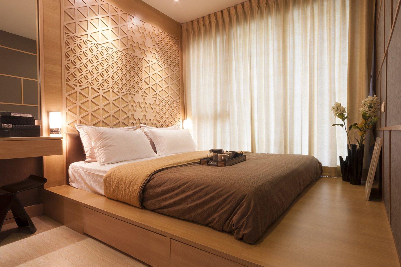 Дизайн спальни в «хрущевке» (94 фото реальные идеи ремонта) 84