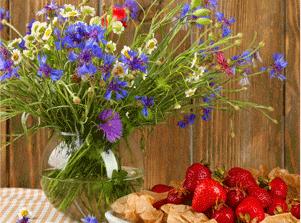 Вазы и цветы