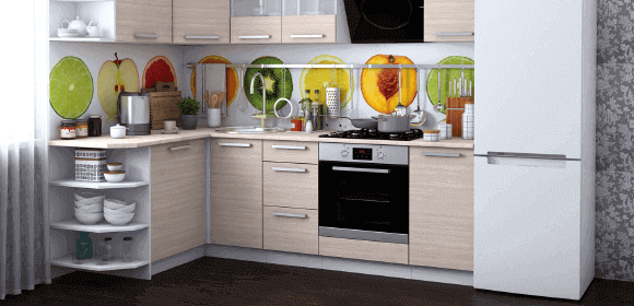 Кухни homma недорого, угловые кухни, прямые кухни, маленькие кухни ...   280x580